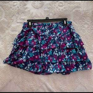 Aeropostale size large floral skirt